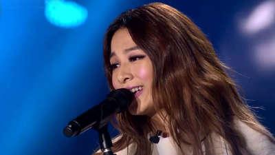 田馥甄成舞台上的公主 被赞太美了
