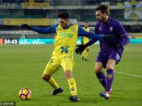 第21轮录播:切沃VS佛罗伦萨(粤语)16/17赛季意甲