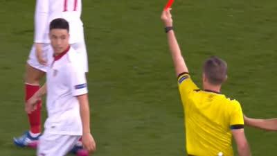 【红牌】这下没法玩了!纳斯里争吵再拿一黄变红离场