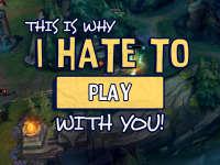 英雄联盟MV《Hate To Play With You》