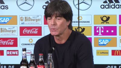 【言论】勒夫:德国上下半场判若两队 年轻球员能学到不少 【中字】