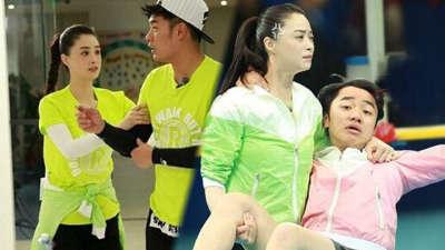 跑男第二季09期 蒋欣嫌弃陈赫不如祖蓝