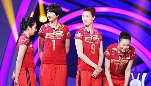 《来吧冠军》第二季—女排展示惊人扣球实力