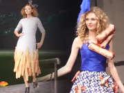 """跨界时尚秀在京举行 穿""""法棍""""演绎面包的童话"""
