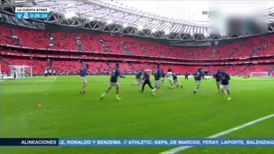 暖!马塞洛赛前热身将球衣赠送给场边皇马球迷