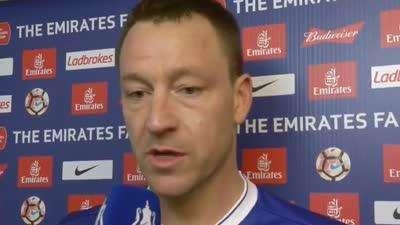 特里:足总杯对我意义重大 最重要的还是晋级【中字】