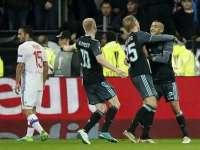 欧联-拉卡泽特双响 阿贾克斯总比分5-4里昂晋级决赛