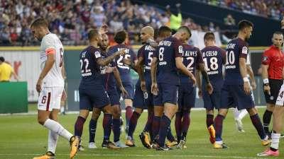 国际冠军杯-罗马20岁妖星破门 巴黎点球6-4胜罗马