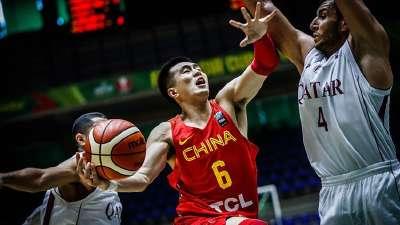 男篮亚洲杯-郭艾伦30分李根13分 中国大胜卡塔尔