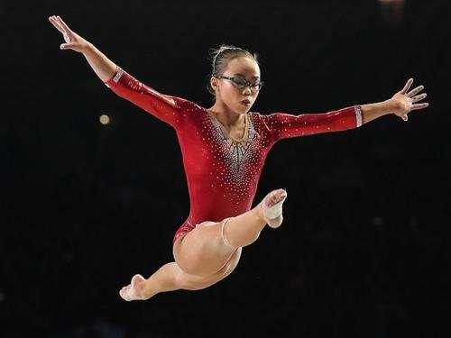 开心成就未来 华人体操女孩圆梦世界冠军