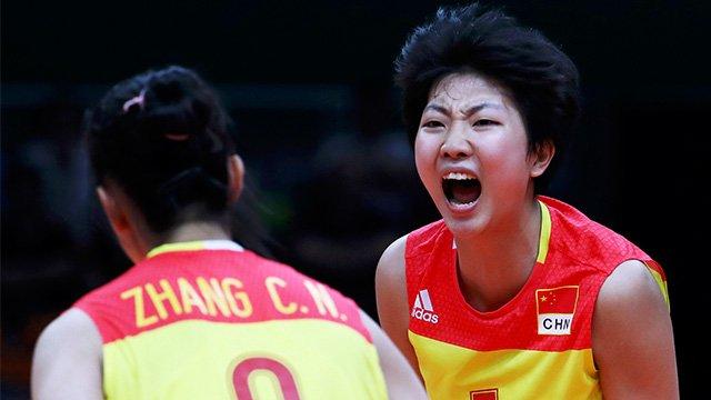 中国女排决赛以3-1胜塞尔维亚强势夺金