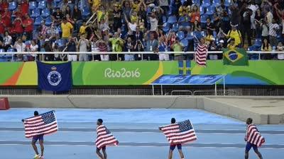 里约奥运会田径综述:美国一家独大 中国创造神奇