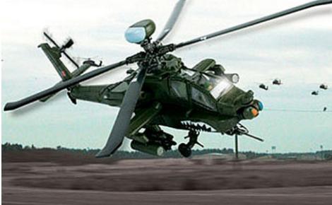 10架最强攻击型直升飞机排名 中国武直-10 直升机上榜
