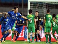 中超-国安乐视1-2苏宁 特谢拉染红李昂任意球破门