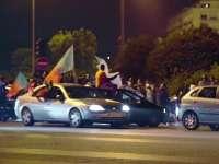 语熙子墨见证葡萄牙夺冠 球迷铁塔下欢庆胜利