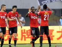 中超-宏运3-0延边 詹姆斯破门伤退乌贾双响