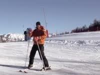 气质大叔教你双板滑雪 初学篇第四集犁式转弯