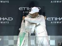 F1阿布扎比站正赛赛后采访