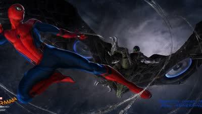 《蜘蛛侠:英雄归来》曝光前瞻预告 全新飞行战服首登大银幕