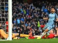 米尔纳点射阿圭罗救主 曼城1-1利物浦