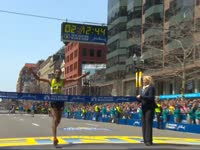 120周年震撼历史 2016波士顿马拉松集锦