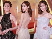 "TVB50周年台庆女星露肉拼性感 曾志伟头写""50""字样超给力"