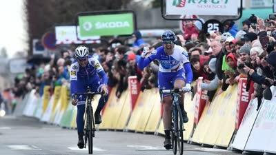 妖风肆虐巴黎-尼斯第1赛段 德玛尔夺冠康塔多掉队