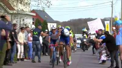 萨甘首夺五大古典赛 2016年环弗兰德斯自行车赛后集锦