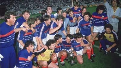 经典-普拉蒂尼5场轰第9球 84欧洲杯法国2-0西班牙首次夺冠