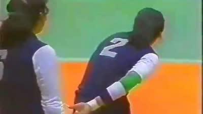 女排荣耀回顾 1985年女排世界杯中国队战胜古巴队夺冠