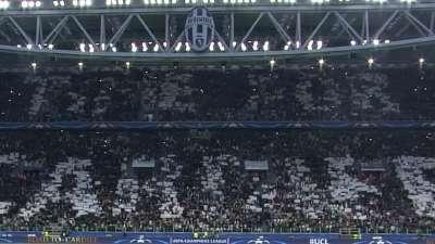 震撼!主看台呈现卡迪夫巨型TIFO 全场高喊冠军剑指决赛