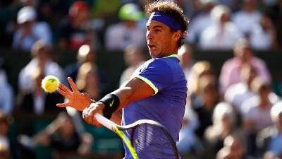 法网-纳达尔三盘送蛋蒂姆  生涯第十次晋级决赛