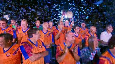 欧冠首冠25年纪念日 巴萨元老重温捧杯瓜帅到场