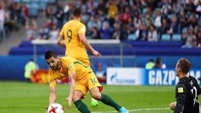 莱诺黄油手送大礼 尤里奇捡漏破门澳大利亚2-3德国