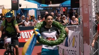 阿尔卑斯山地马拉松开跑 k78男子冠军用时6:25:46