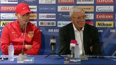 里皮:离出线仅一步之遥 下届亚洲杯成为主角