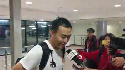 冯潇霆:每个人都努力拼到最后 2-1后还想再进一个