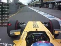 F1澳大利亚站排位赛 帕默尔随队友淘汰 雷诺OUT
