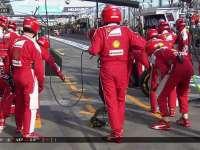 法家巨慢进站!F1澳大利亚站正赛 维特尔进站换软胎