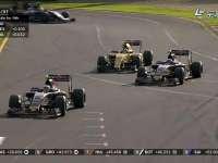 F1澳大利亚站正赛 小红牛轮番超越帕默尔