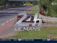 勒芒24小时耐力赛:49号赛车失误引发黄旗