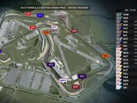 F1英国站排位赛(GPS追踪)全场回放