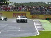 F1英国站正赛:汉密尔顿想超安全车