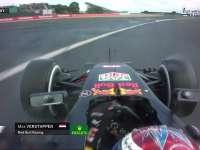 杀手弯!F1英国站正赛:小维斯塔潘冲出一号弯