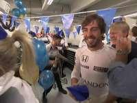 F1德国站FP1:阿隆索今天生日快乐!