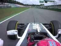 拜托!F1德国站FP1:格罗斯让抱怨维特尔阻挡