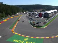 F1比利时站FP2:维特尔被挡怒挥小手