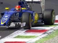 F1意大利站FP1:纳斯尔超越后后轮抖动严重