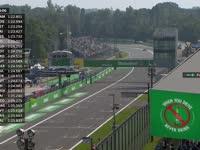 F1意大利站FP2 车队要帕默尔给赛车降温 呼吸新鲜空气