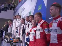 WEC墨西哥六小时耐力赛LMP1组颁奖